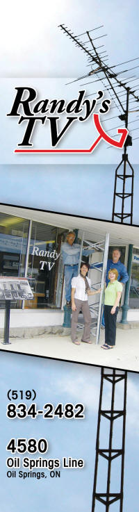 Randy's TV Ltd , Oil Springs, Sarnia, Ontario, Canada